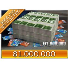 1 000 000$ + Бонус 500 000$