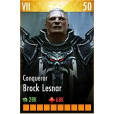 Broker Lesnar Conqueror